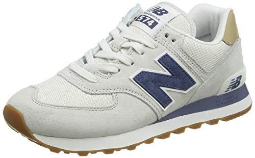 New Balance Herren ML574LGI Sneaker, Grau (Light Cliff Grey), 44.5 EU
