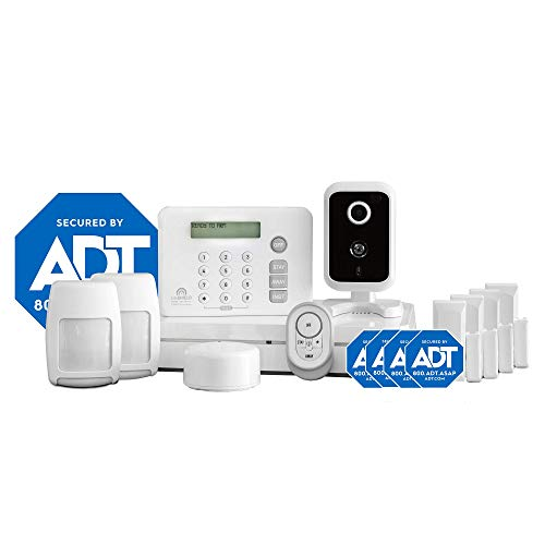 ADT DIY LifeShield 13-Piece Easy, DIY Smart Home Security System - Optional 24/7 Monitoring - No Contract - Wi-Fi Enabled - Alexa Compatible