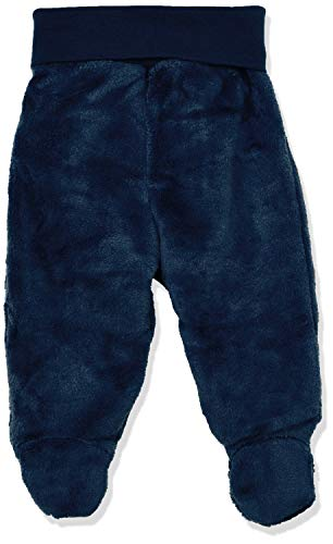 Playshoes Baby-Unisex Kuschelfleece Hose, Blau (Marine 11), (Herstellergröße: 68)