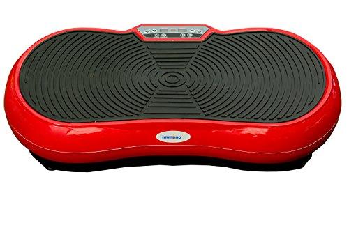 Immuno Whole Body Vibration Exerciser -Exercise Machine (Red)