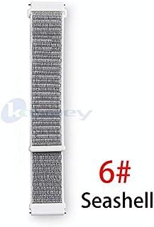 إكسسوارات TOMMY-Smart - حزام حلقة من النايلون الأصلي لـ Xiaomi Huami Amazfit Bip BIT ساعة ذكية مضيئة للشباب يمكن ارتداؤها ...