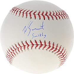 Will Smith Signed Baseball