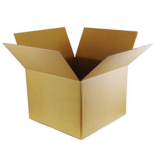 ボックスタウン ダンボール(段ボール箱)160サイズ5枚入り 【55×55×高さ40�p】引越し・配送・保管用DB-16001C (5) 強化材質