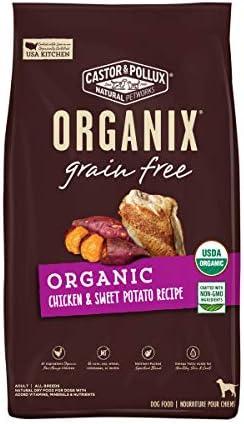 Castor Pollux Organix Grain Free Organic Chicken Sweet Potato Recipe Grain Free Dry Dog Food product image