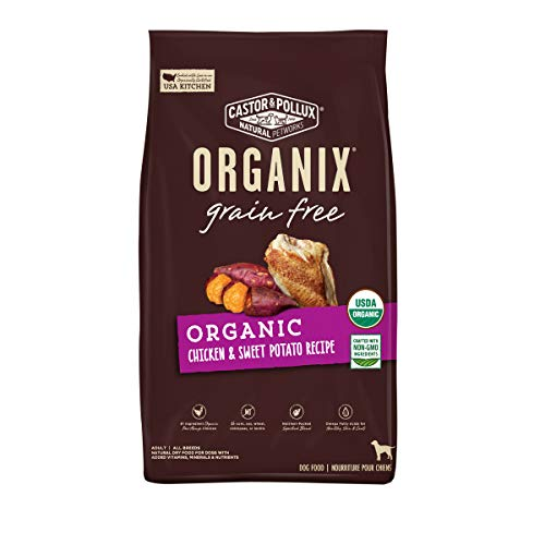Castor & Pollux Organix Grain Free Organic Chicken & Sweet Potato Recipe Grain Free Dry Dog Food - 4 lb Bag