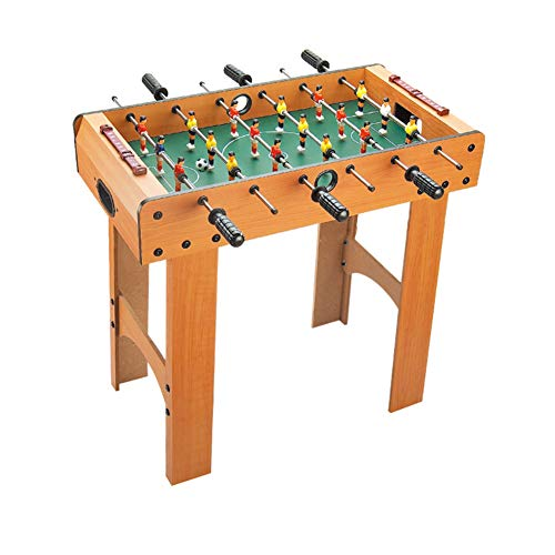 Save %23 Now! softneco Mini Foosball Game Wooden Table,Portable Football Table for Home Party Recrea...
