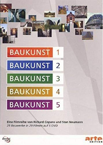 Baukunst, Vol. 01-05 [5 DVDs]