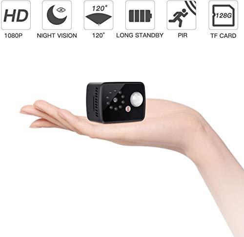 Mini Verborgen Spy Camera 1080P Body Verborgen Camera met PIR Body Inductie Infrarood Nachtzicht Ondersteuning Max 128G voor Opname Camera's voor Home Security