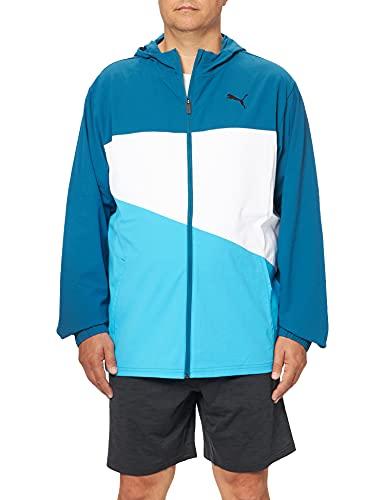 PUMA Vent Woven Veste à capuche Hommes Veste à capuche Homme Digi-Blue FR : 2XL (Taille Fabricant : XXL)