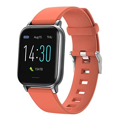 S50 Multifuncional A Prueba De Agua Hombres Inteligentes Y Mujeres Smart Watch Bluetooth Deportes Al Aire Libre Tasa del Corazón Monitor Monitor Fitness Smart Watch para iOS Android,C