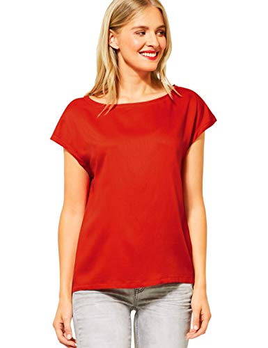 Street One Damen 342047 Bluse, Cheeky red, 42