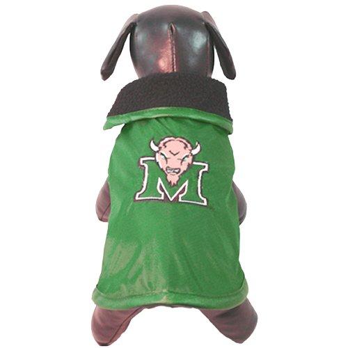 NCAA Marshall Thundering Herd, wetterfeste Schutzkleidung für Hunde, Unisex-Erwachsene, Teamfarbe, X-Small