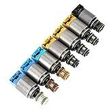 Válvula solenoide de control de cambio de transmisión, 1068298044 Kit de válvula solenoide de caja de cambios de control de cambio Válvula solenoide de control del motor para 6HP19 ZF6HP26 ZF6HP