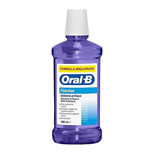 Oral-B Fluorinse Collutorio, 500 ml