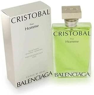 Cristobal Cologne By Balenciaga 3.4 Oz Eau De Toilette Spray For Men