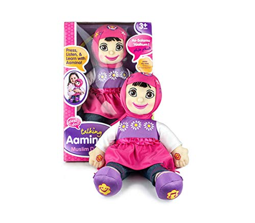Aamina – Talking Muslim Girl New Purple and Yellow