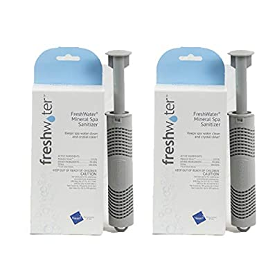 Hot Spring Spas Freshwater Ag+ Continuous Silver Ion Sanitizer 71325 - 2 Pack