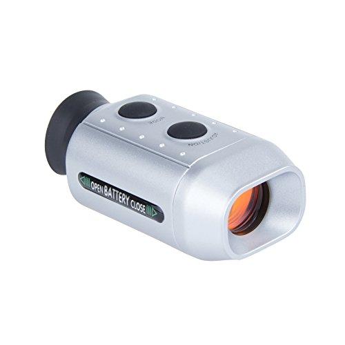 Lemonbest Mini Digital 7X Golf Range Distance Finder Telescope Golfscope Scope with Bag 1pcs