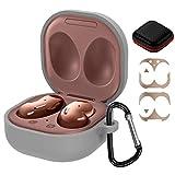 GeeRic Custodia Compatibile per Samsung Galaxy Buds Live,4 in 1 Accessori Kit Case Protective...