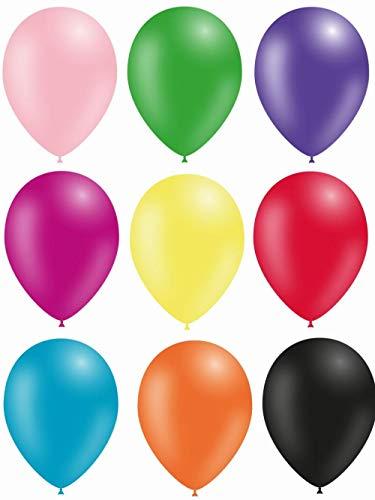 Ballon assortiment standard Ballon Taille 12 (29 cm) par 100