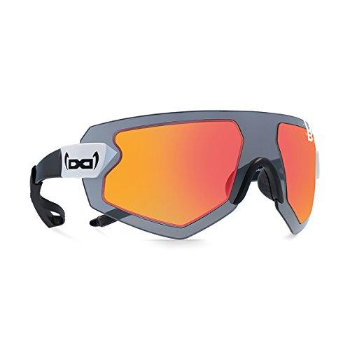 gloryfy unbreakable eyewear Sonnenbrille G9 XTR Helioz stratos red, schwarz