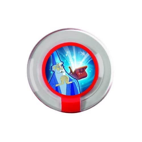 Disney Infinity: Pack con 2 Gettoni Extra Power Mago Merlino - Esclusiva Amazon.it