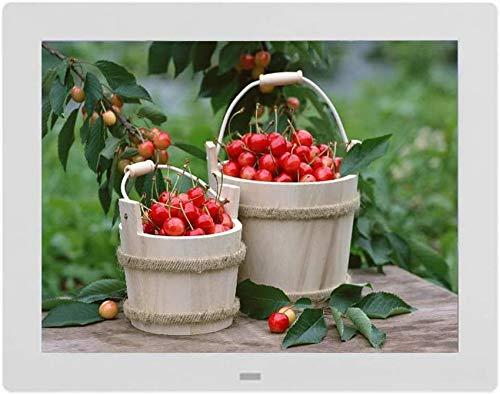 CCLLA Digitale Bilderrahmen Android Web Edition 12-Zoll-Ultra-Clear Square Square Elektronischer Fotoalbum-Multifunktions-Werbespieler für die Wandmontage