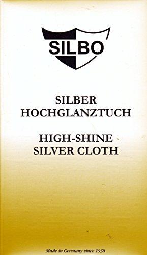 Silbo Silber Hochglanztuch High-shine Silver Cloth 30x24 cm