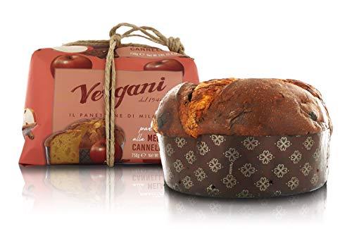 Vergani Panettone Gourmet con Manzana caramelizada y Canela - 750 gr