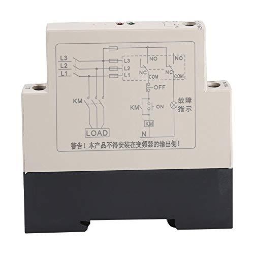 Acogedor fasedoor-beschermingsrelais, 200-500 VAC driefasige spanningsbewakingsrelais, met 2 controlelampjes, voor pompen, ventilator, centrale airconditioning
