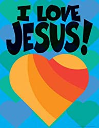 Say-It Poster Chart - I Love Jesus!
