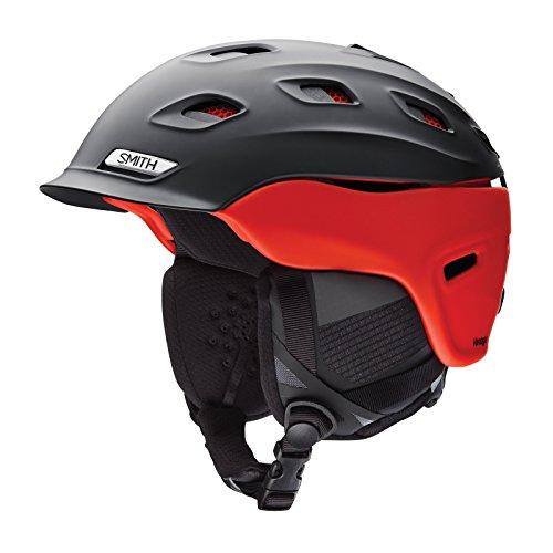 SMITH Vantage Men's Ski Helmet, Mens, E00655SOK5559, Matte Black Split, Taille 55-59