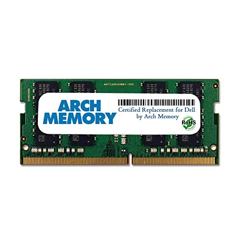 Arch Memory Replacement for Dell SNPWTHG4C/16G AA937596 16 GB 260-Pin DDR4 So-dimm RAM for Latitude 5411