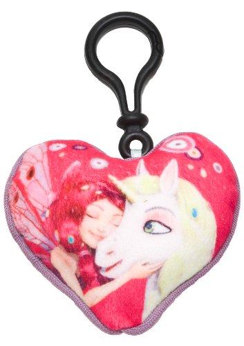 Mia and Me 118054 - Mia und Onchao Mini-Kissen mit Clip On, 9 x 9 cm