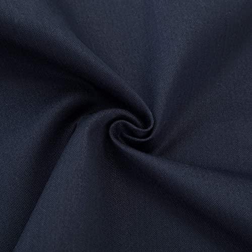MOZHANG Tela de protección contra radiación de Fibra 100%, 5G / WiFi/EMF/RFID/emi/RF Material de Bloqueo, para Camiseta, Cortina, Hoja de Cama (Color : Blue, Size : 3m)