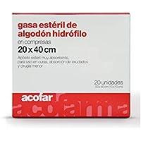 ACOFAR - ACOFAR GASA ESTERIL 20X40 20UN