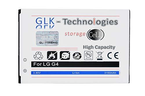 Batería de repuesto de alta potencia para LG G4, H815, G4, Dual SIM, H818P, Stylus H635, batería original de tecnología GLK, 3150 mAh, 2021 B.j