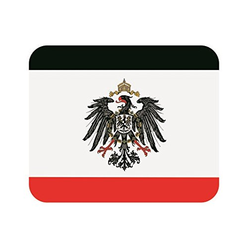 U24 Mousepad Textil Kaiserreich mit Adler Deutsches Reich Fahne Flagge Mauspad