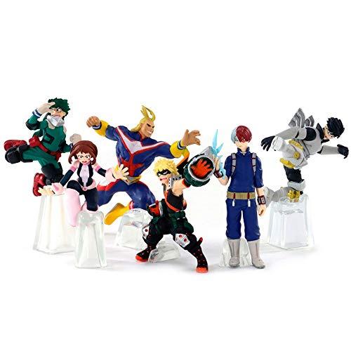 "Dragon Ball Super Bandai My Hero Academia Blind Bag 3,5"" Boneco com pose"