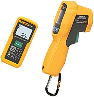 Fluke 414D/62MAX+ 414D Laser Distance Meter with IR Thermometer