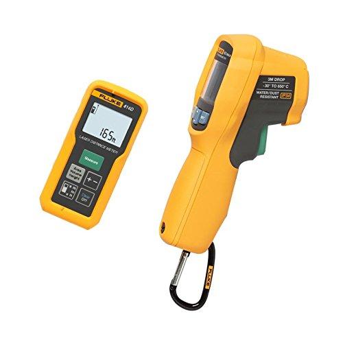 Fluke 414D/62MAX + Kit laserafstandsmes/infrarood thermometer, Combo,