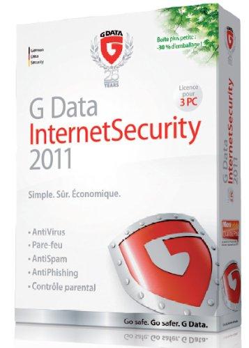 G Data internet security 2011 (3 postes, 1an)