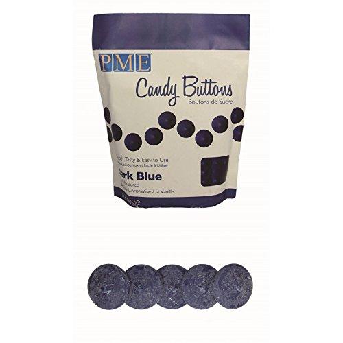 20 x 12oz PME DARK BLUE Candy Button Melt Pops Sugarcraft Cake Decoration Dip