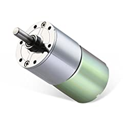 【ALL-METAL GEARS】: High-temperature resistance, high abrasion resistance, strong load capacity, sturdy and durable, effectively protect the gear box motor body. 【PURE COPPER WIRE CORE ROTOR】: With precision winding technology, the geared motor power ...