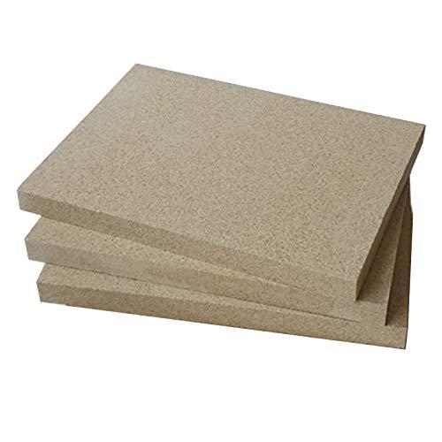 Placas de vermiculita (400 x 600 mm, 30 mm de grosor)