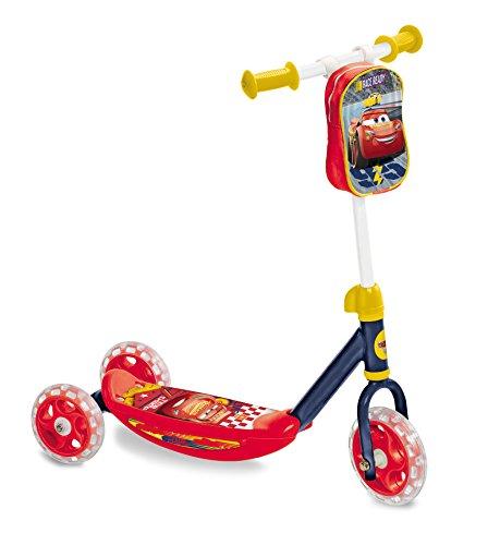 "Disney Cars The Movie Patinete 3 Ruedas con Bolsa Cars 3, 10"" (Mattel 18005)"