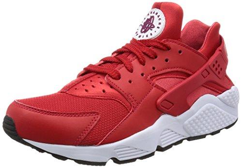Nike Air Huarache, Entrenadores Hombre, Rojo (University Red/True Berry/Black/White), 40.5 EU