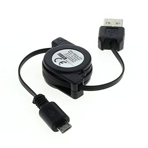 Câble rétractable Micro USB USB 2.0 A /micro B NOIR