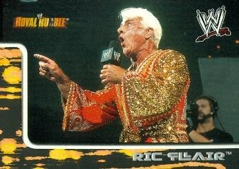 Ric Flair Trading Card (Wrestling) 2002 Fleer Royal Rumble #28