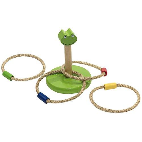 Ringwurfspiel Spiel Wurfspiel Holz Frosch Kinderspielzeug Outdoor Spielzeug von notrash2003